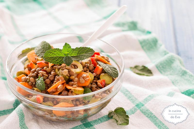Insalata di lenticchie insalata di lenticchie rubrica - Cosa cucinare oggi a pranzo ...