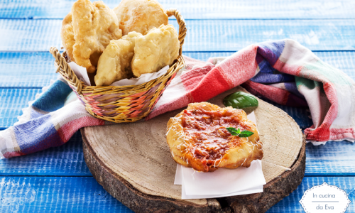 Pizzette fritte alla montanara
