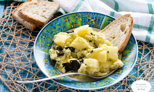Uova patate e zucchine