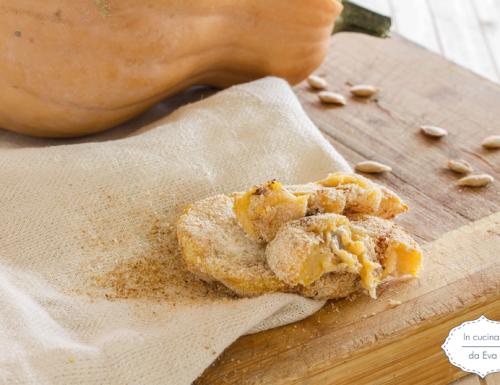 Crocchette zucca patate e salsiccia