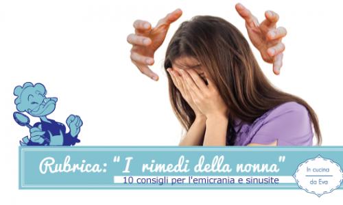 10 consigli per l'emicrania e sinusite