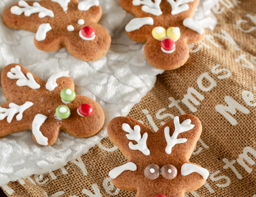 Biscotti Rudolph la renna