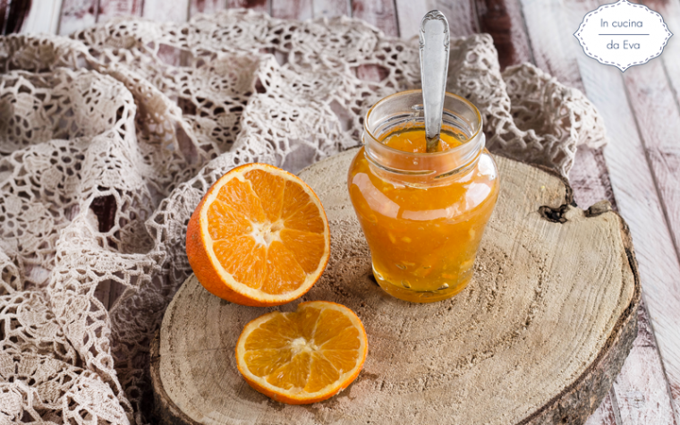 Marmellata di arance amare e scorze con pectina