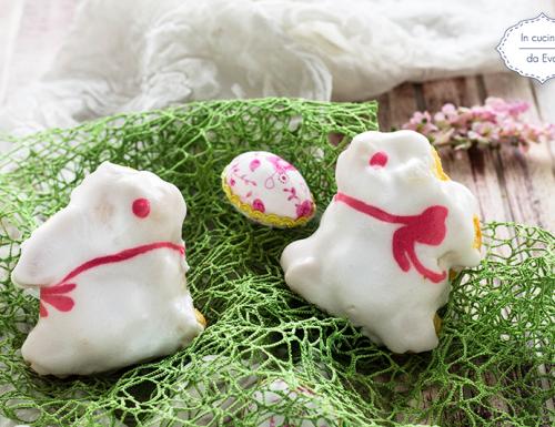 Coniglietti segnaposto glassati