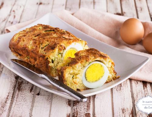 Plumcake con uovo sodo