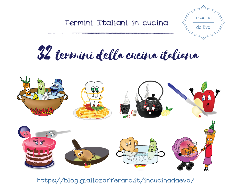 32 termini della cucina italiana