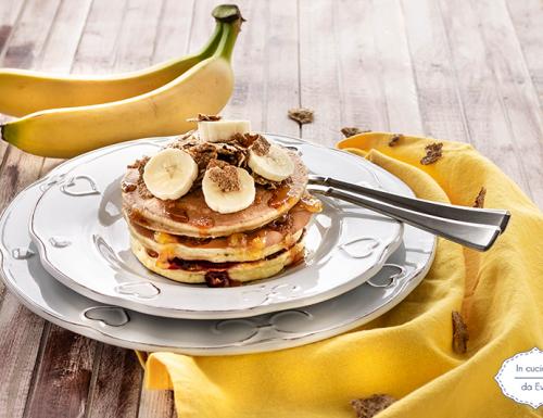 Pancake banana e caffè