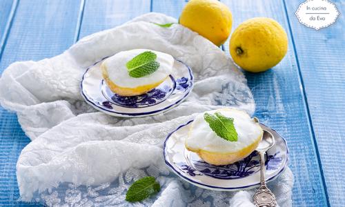 Sorbetto gelato al limone