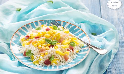 Insalata di riso agrodolce
