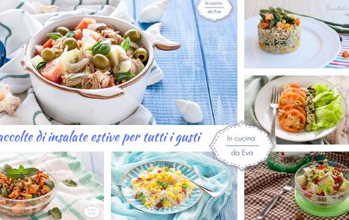 Raccolte di insalate estive per tutti i gusti