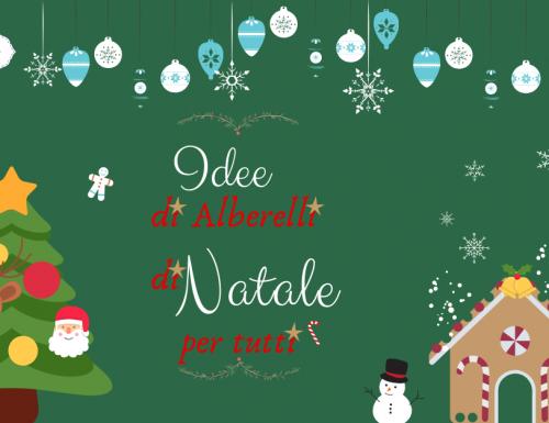 Idee di Alberelli di Natale per tutti