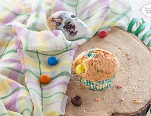 Muffin con M&M'S
