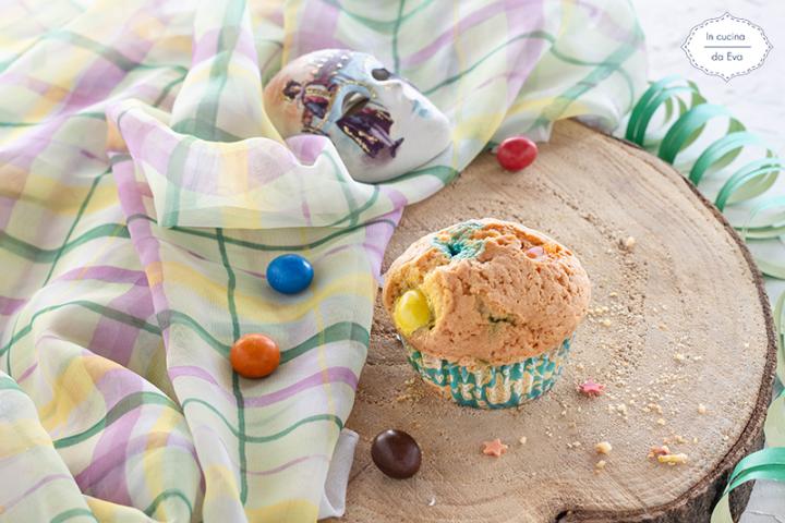 Muffin-con-M&M S