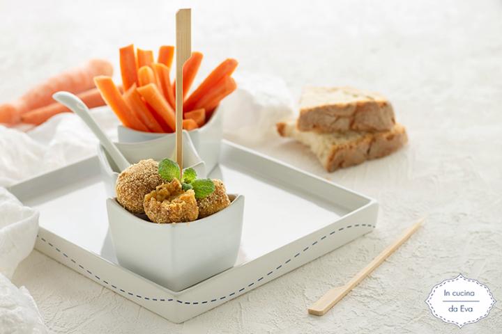 Polpette di pane e carote