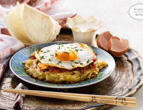 Okonomiyaki, ricetta giapponese