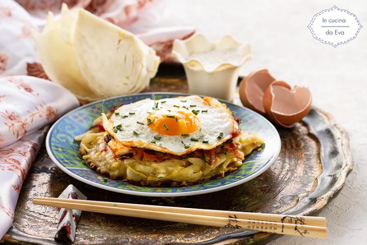 Okonomiyaki, ricetta tipica giapponese