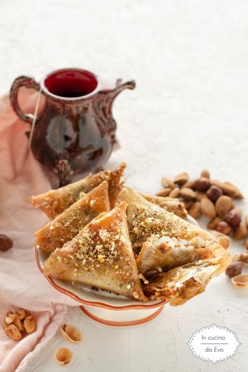 Samsa dolce tunisino