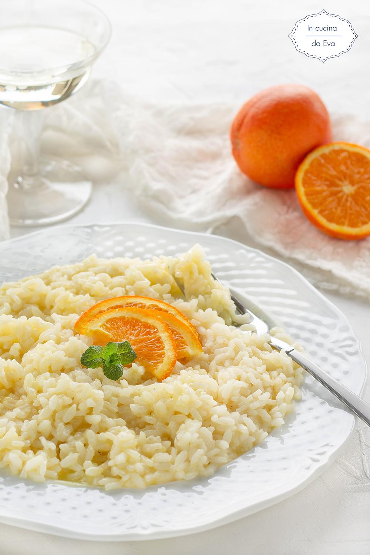 Risotto Con Arancia Primo Piatto Di Riso Con Agrumi In Cucina Da Eva