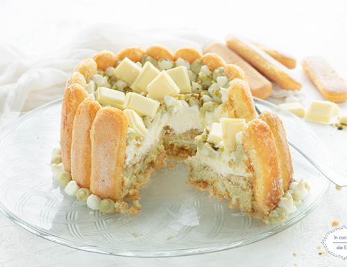 Torta fredda con pistacchio e mascarpone