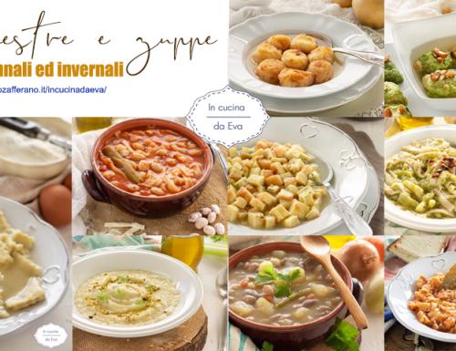 Minestre e zuppe autunnali ed invernali