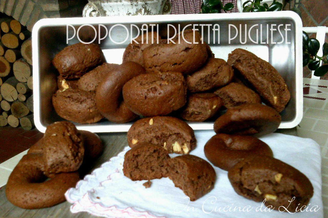 Poporati ricetta dolce pugliese in cucina da licia for Ricette in cucina