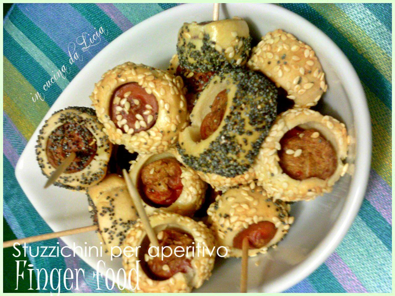 Stuzzichini per aperitivo ricetta finger food