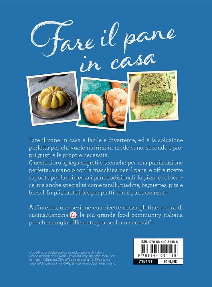 Libri di cucina fare il pane in casa in cucina per amore for Libri di cucina per principianti