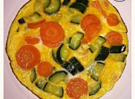 Frittata con verdure gustosa