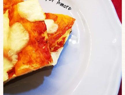 Pizza alta e morbida