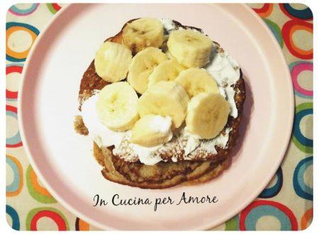 Pancake proteici con 2 ingredienti