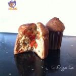 muffin pancetta, peperoni e brie