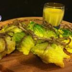 fagottini di verza con crema allo zafferano - ricetta vegetariana