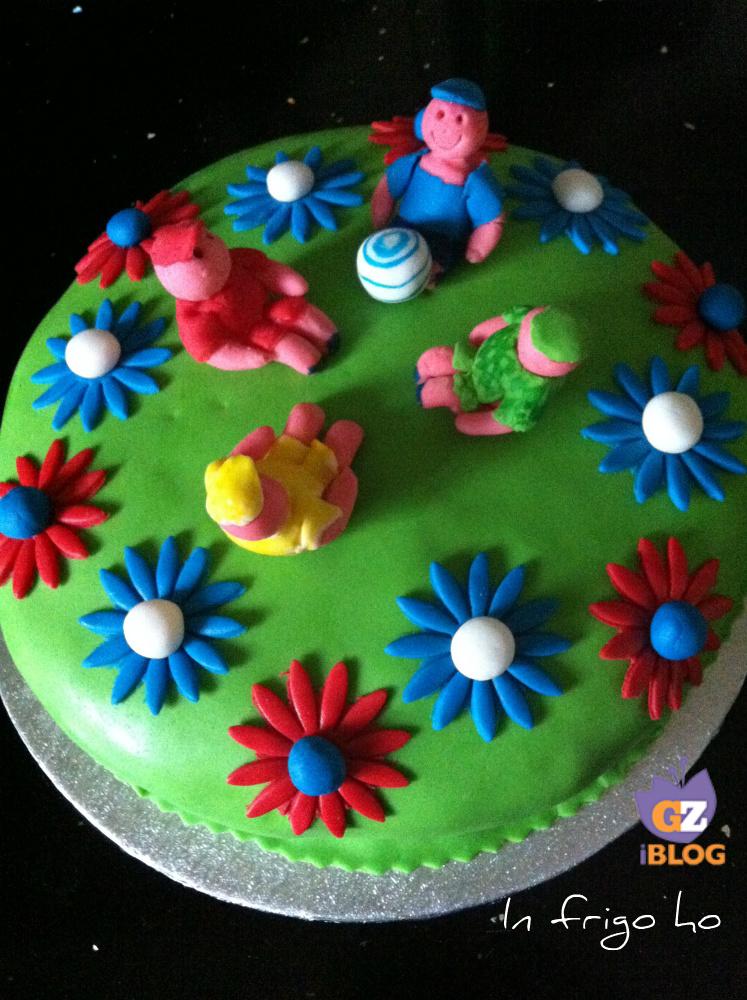 TORTA BIONDINA BAMBINI- CAKE DESIGN