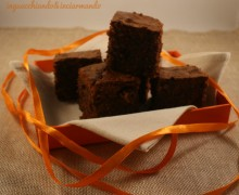 Brownies fondente