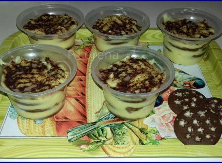 Dessert con Pandistelle e crema all'arancia
