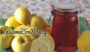 Gelatina di limone e mele