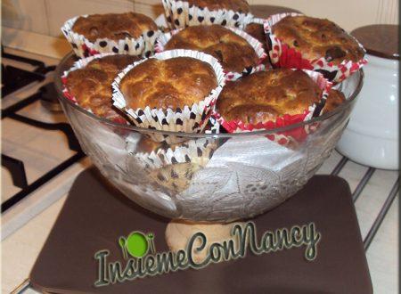 Muffins salati farciti con melanzane e sottilette
