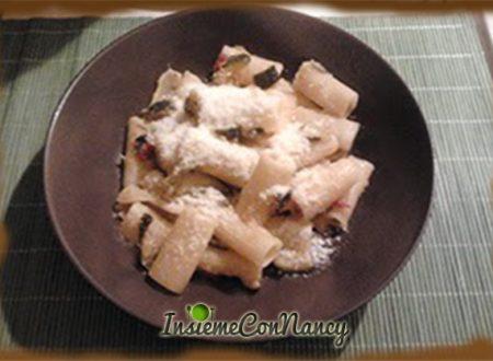 Rigatoni con zucchine e pomodorini
