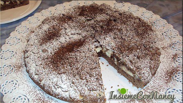 Sbriciolata al cacao e mascarpone
