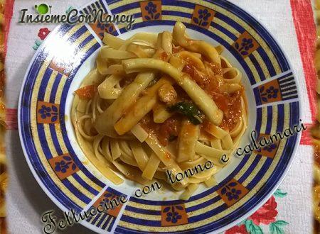 Fettuccine con Tonno e Calamari