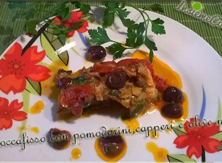 Stoccafisso con Pomodorini e Olive nere