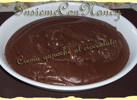 Crema ganache al cioccolato