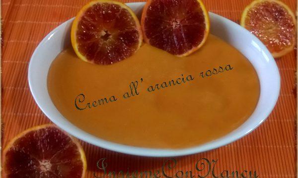 Crema all'arancia rossa