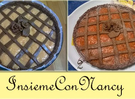Crostata di cioccolato e arancia rossa