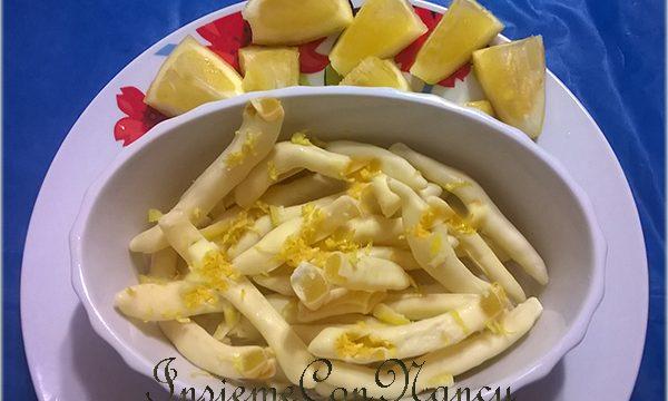 Scorzette di limone al cioccolato bianco