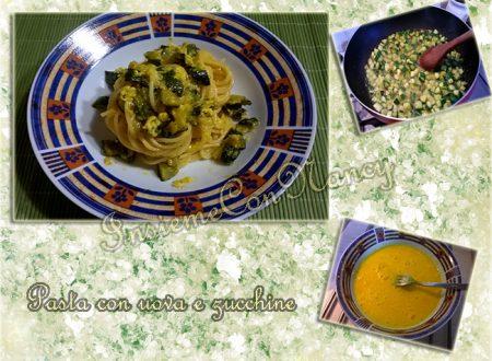 Pasta con uova e zucchine