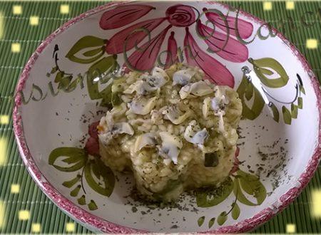 Risotto Vongole e Zucchine