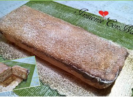 Plumcake con Pasta Frolla ripieno con Ricotta e Pere