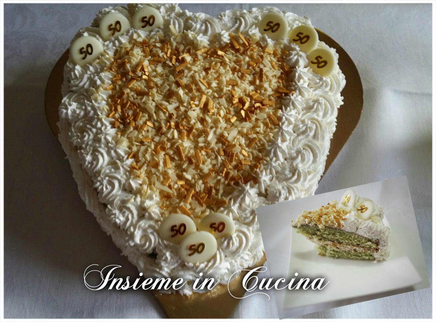 TORTA RICOTTA, PISTACCHIO, CREMA AL MASCARPONE