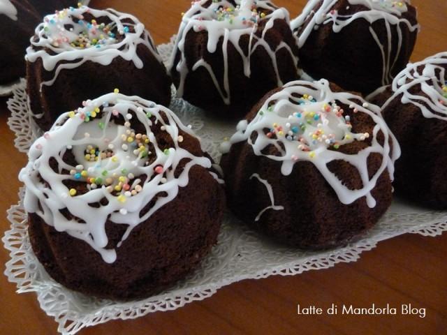 Tortino con cuore morbido al cioccolato